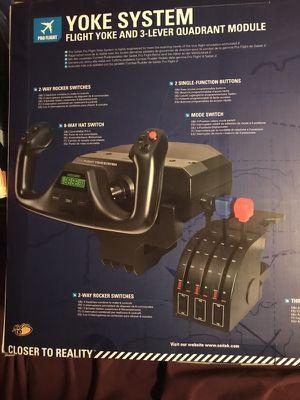 Complete flight simulator equipment and software
