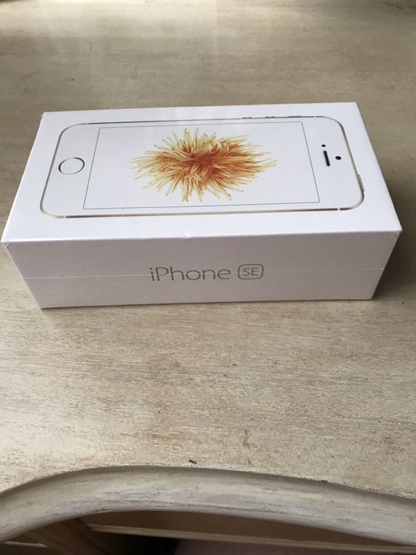 Brand New iPhone SE, Gold, 32GB (Unlocked)