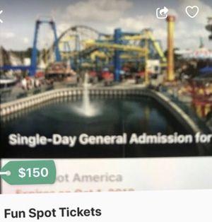 Fun spot tickets