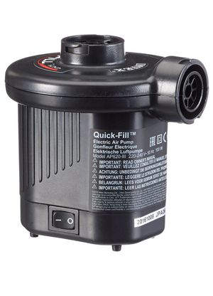 Intex Quick-Fill DC Electric Air Pump, Max. Air Flow 21.2CFM motor para inflar