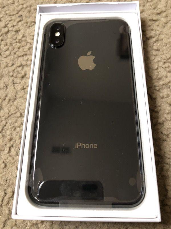 Brand new iPhone X64gb unlocked T-Mobile simple metropcs