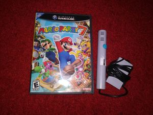 Mario party 7 with mic for gamecube