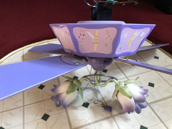 Tinkerbell ceiling fan home garden in shamokin pa offerup tinkerbell ceiling fan aloadofball Images