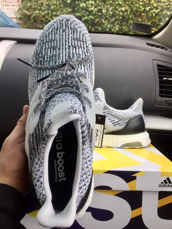Adidas S 80636 Ultra Boost 3.0 Oreo Low Mens Running Shoe (Black