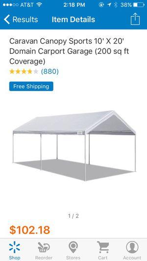 10x20 ft caravan canopy