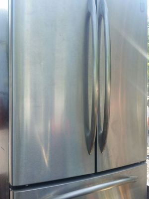 Stainless French Refrigerator