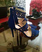 Jessica Simpson Blue sandals