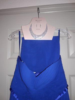 Brand new dress with jewlery