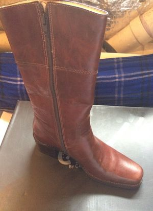 Brand new size 8 brown . Carlos by Carlos Santana boots