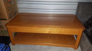 Coffee Table with end table