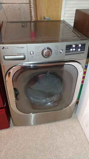 LG True Steam Frontload Stainless Oversize Capacity Electric Dryer