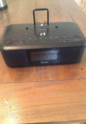 iHome Radio Alarm and iPhone iPad dock and speakers