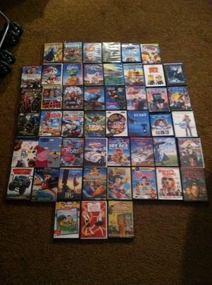 Lot of DVD, blue ray movies