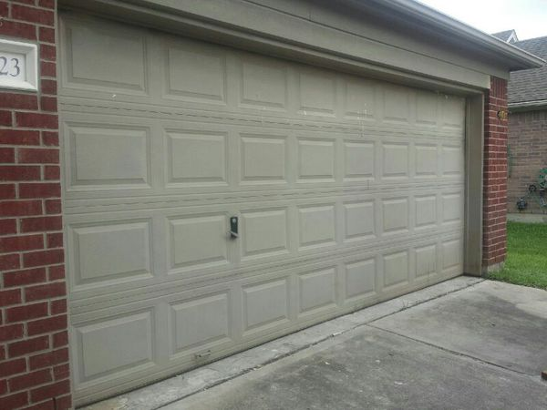 16 x 7 garage door16x7 Garage Door Pannels General in Houston TX  OfferUp