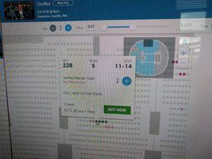 Gorillaz - 2 KeyArena seats and 2 CDs