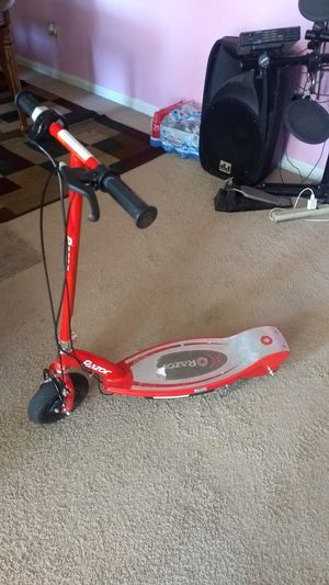 Used gray and red scooter