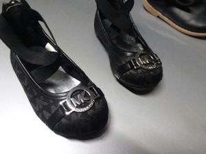 michael kors slippers Size 6 Black Boots 6