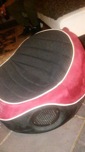 Black/ Red Boompod Boomchair Game Chair With Two Speakers S