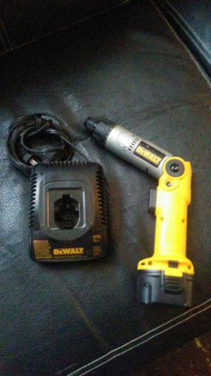Dewalt corless Drill Battery and charger