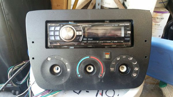 Cd Player Install Kit Mercury Sable Ford Taurus Auto Parts In Rhofferup: Ford Taurus Mercury Sable Radio Cd Car Stereo At Elf-jo.com