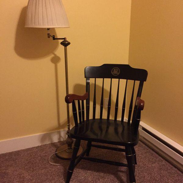 Solid Wood Arm Chair Drew Bledsoe Signature Piece