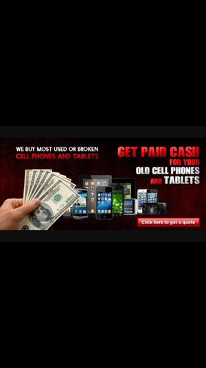 We buy any smartphone/electronic Used/New