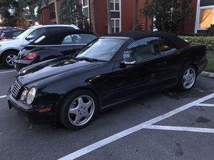 2001 Mercedes CLK 430 Convertible