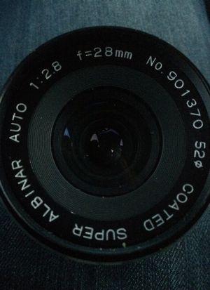 28mm Coated Super Albinar Auto 1:2.8 Manual Camera Lens