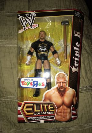 WWE Elite Collection Triple H Toys R Us exclusive