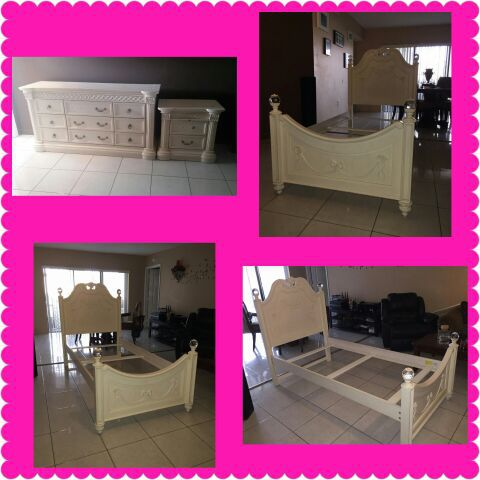 Girls Twin Bedroom Set Furniture In Miami Fl