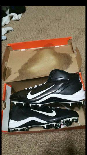 Nike Alphashark football cleats