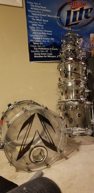 Crush Acrylic Drum Set