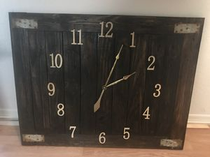 Vintage Hand made one of the kind clock.