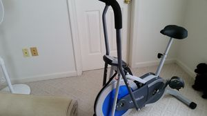 Exercise bike like new used few times. Text me or inbox me. {contact info removed}