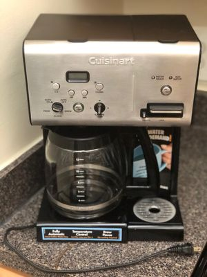 $39 Cuisinart® Coffee Plus™ 12-Cup Programmable Coffee Maker with Hot Water System