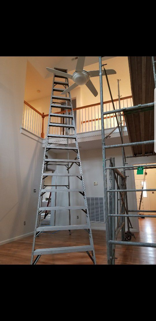 16 ft step ladder Tools Machinery in Norfolk VA OfferUp