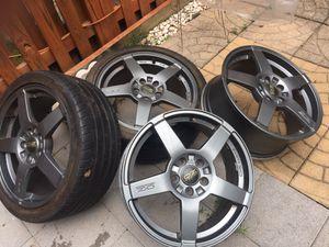"""18"""" 5x112 Oz Racing Wheels"""