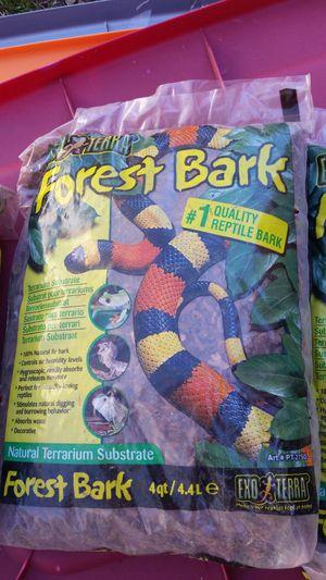 Forest bark bedding