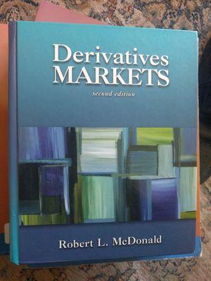 Derivatives Markets Textbook