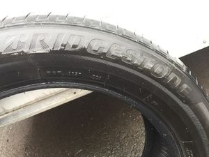 I have 1 Bridgestone Used Tire 215/55/R17