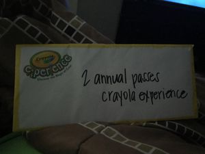 Crayola experience annual passes