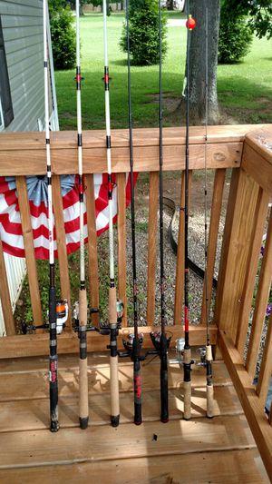 7 new fishing poles great shape