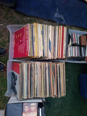 About 200 records perfect condition Barely Used