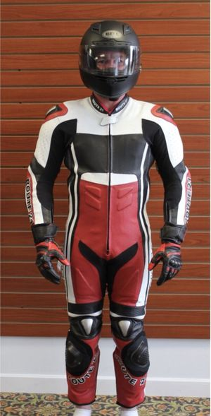 Route 21 motorcycle racing suit size 50