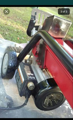 Wood Splitter with owner Manual