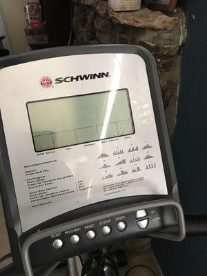 Schwinn recumbent stationary bike