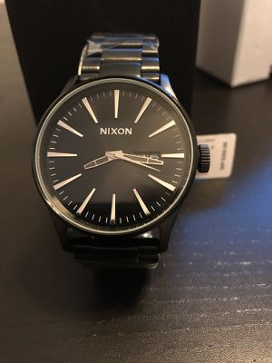 Nixon Sentry Watch Brand New All Black A356-001