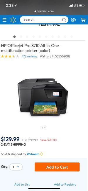 Brand New HP multifunction printer