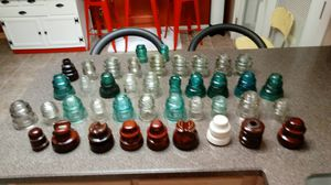 40+ Glass & Porcelain Insulators