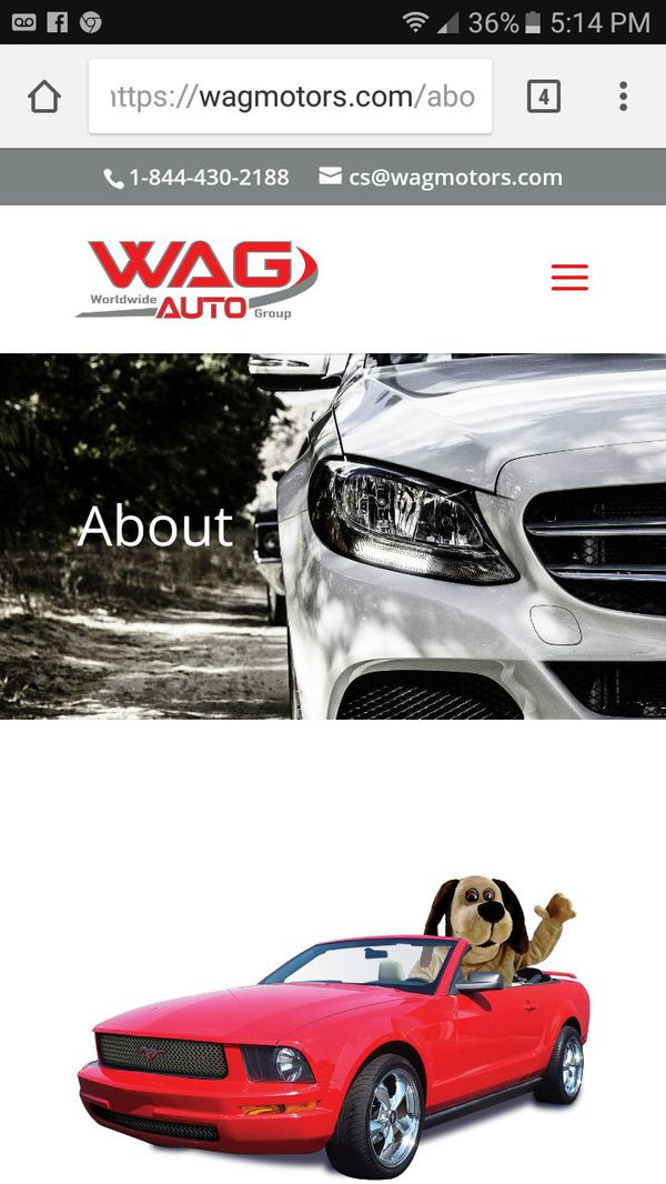 WAG WORLDWIDE AUTO GROUP (Cars & Trucks) in Clarksville, TN